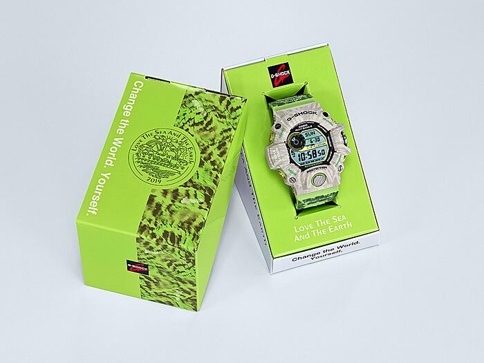 , G-Shock Rangeman GW-9404KJ-3JR Edición Earthwatch para Love the Sea and The Earth 2019