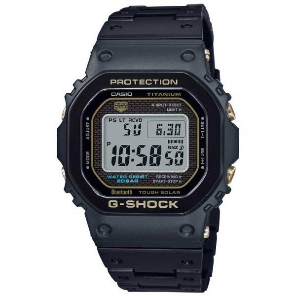 G-Shock GMW-B5000TB-1, Full titanio con cristal de zafiro