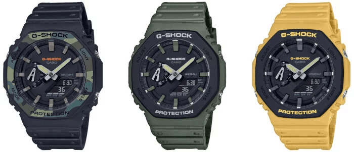 Nuevos G-Shock Carbon Core Guard del modelo GA-2100SU!!!