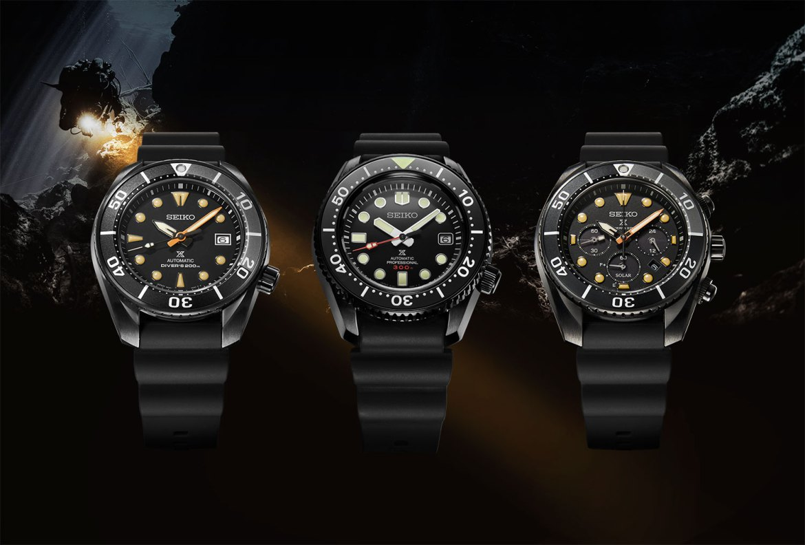 Nuevos Seiko Prospex Black Series «Limited Edition»