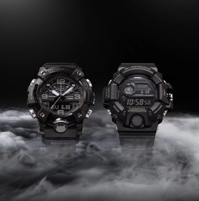 Nuevos G-Shock Mudmaster y Rangeman «Black Out Edition»