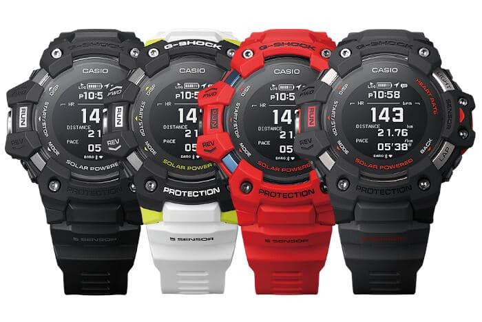 G-Shock G-SQUAD GBD-H1000 con monitor de ritmo cardíaco y GPS