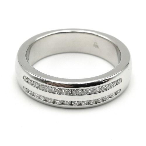 anillo oro blanco AN44933