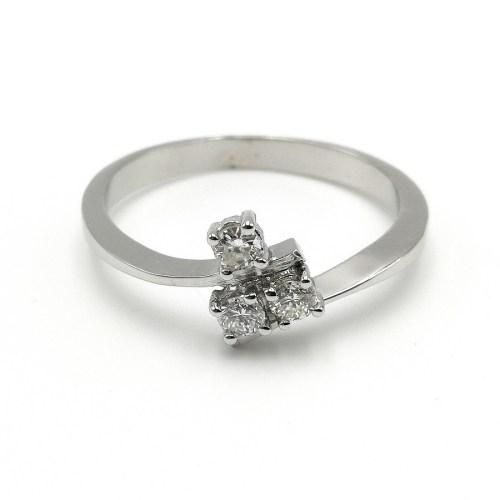 anillo oro blanco EMA81