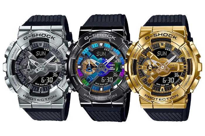 Nuevos G-Shock GM-110, Nuevo G-Shock GM-110, con carcasa de acero inoxidable!!!