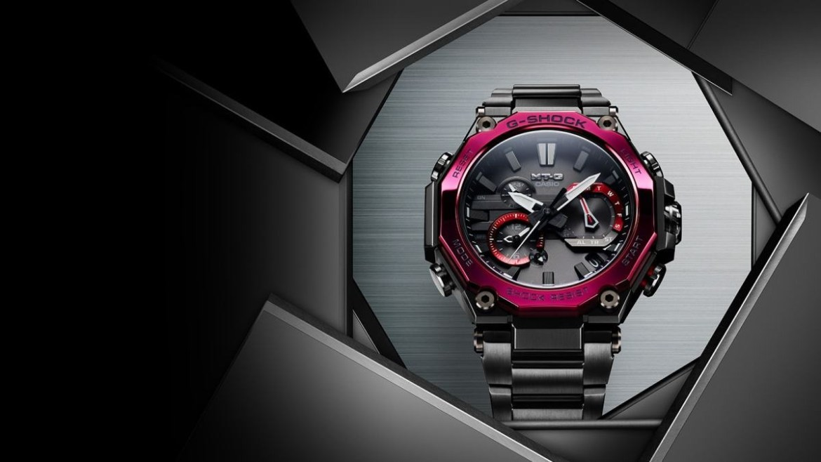 "Nuevo modelo G-Shock MTG-B2000 ""Carbon Core Guard"""