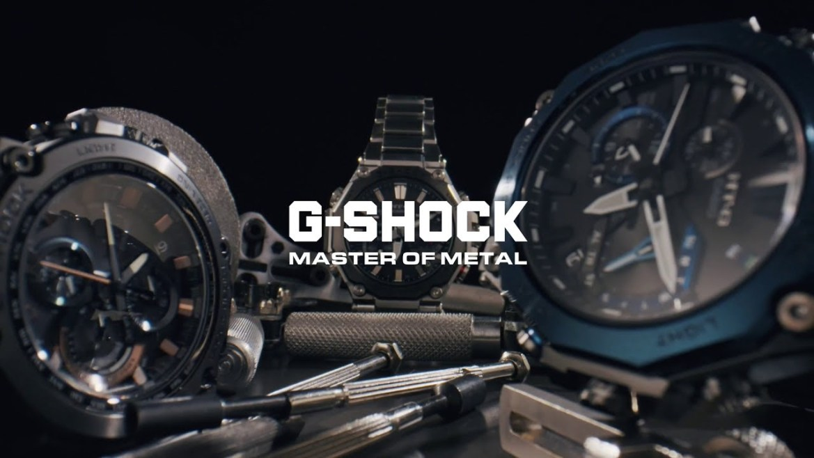 G-Shock Master Of Metals