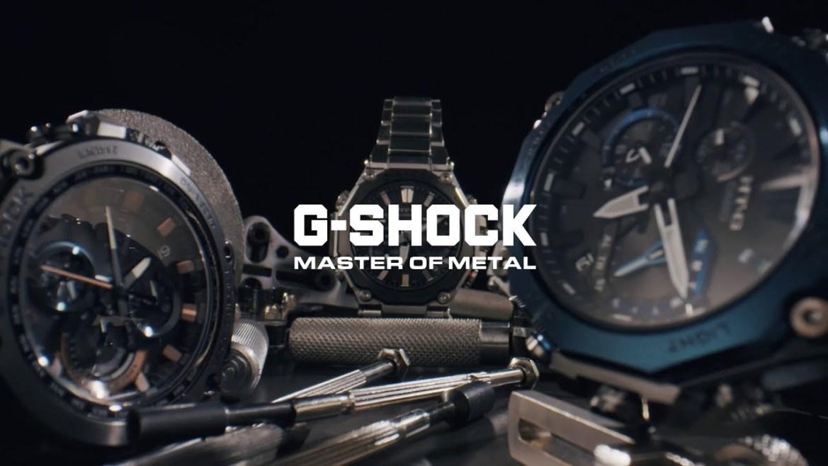 G-Shock Master Of Metals