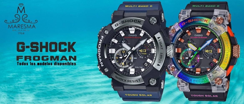Todos los modelos g-Shock Frogman analógicos!!!