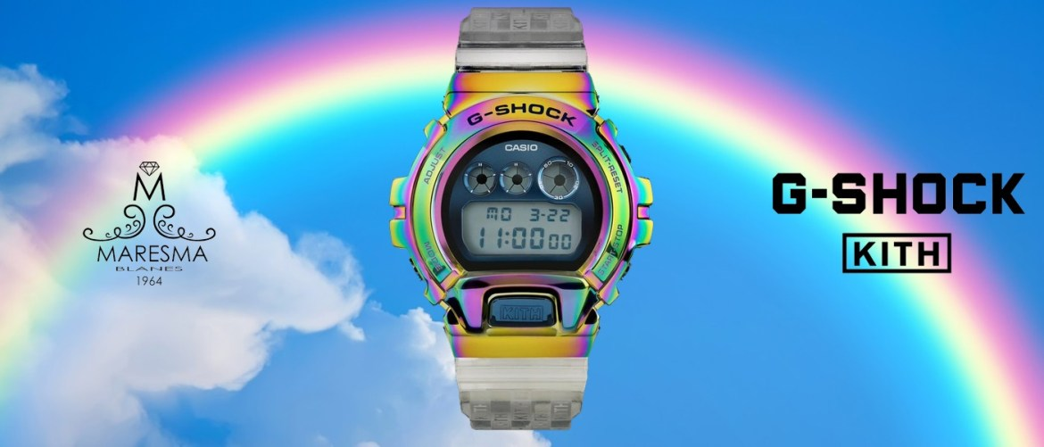 Kith X G-Shock «GM-6900 Rainbow»