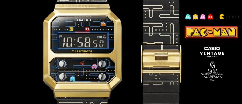 Banner Casio Pac-Man