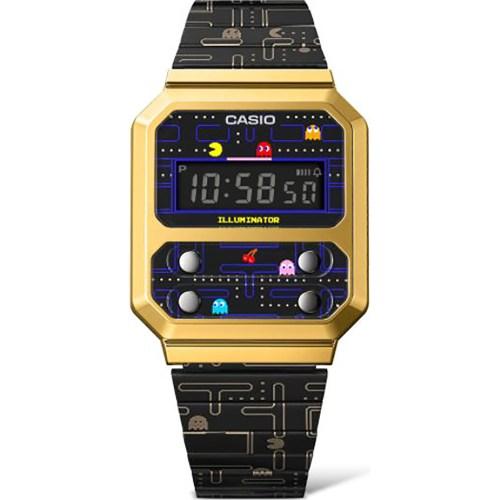 reloj casio vintage x pacman a100wepc-1ber