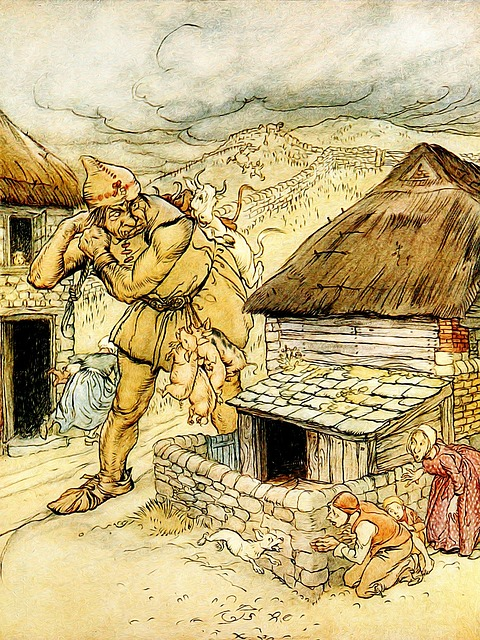"""""""Le Roi Ogre et les Pièces d'or"""" ou """"les Quatre Stratagèmes"""""""