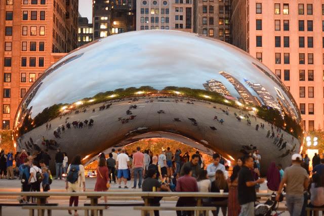 Chicago, Cloud Gate, Bean, Millennium Park, Floradise