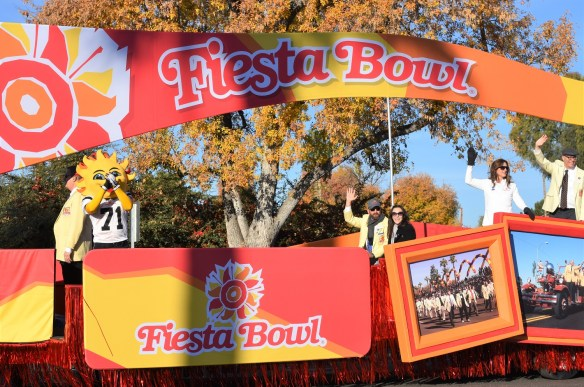 Fiesta Bowl Parade 2017