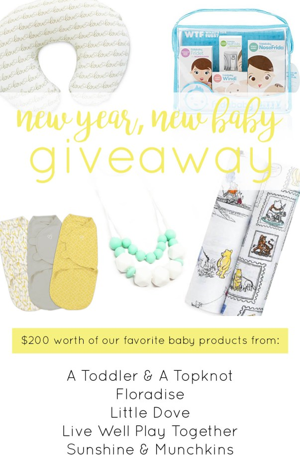Baby Girl Haul, Wish List Items & the New Year, New Baby Giveaway!