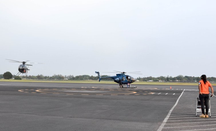 Paradise Helicopters in Hilo, Hawaii