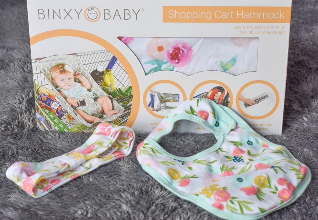 Binxy Baby Shopping Cart Hammock Floral Print