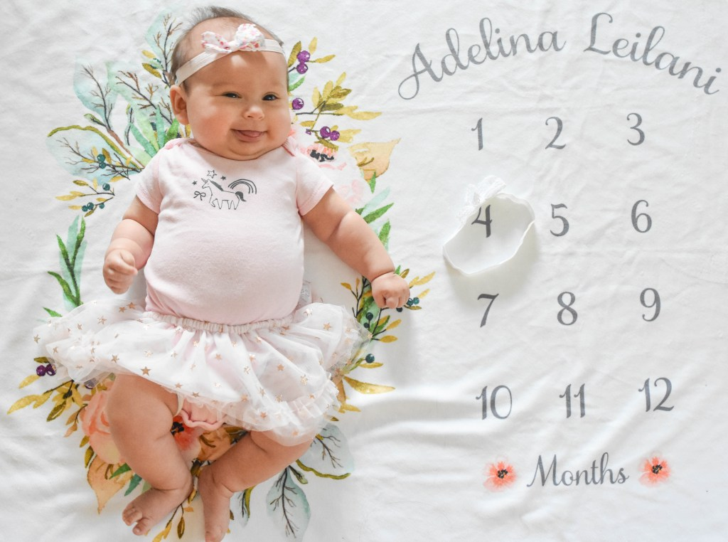 Adelina's 4-Month Update