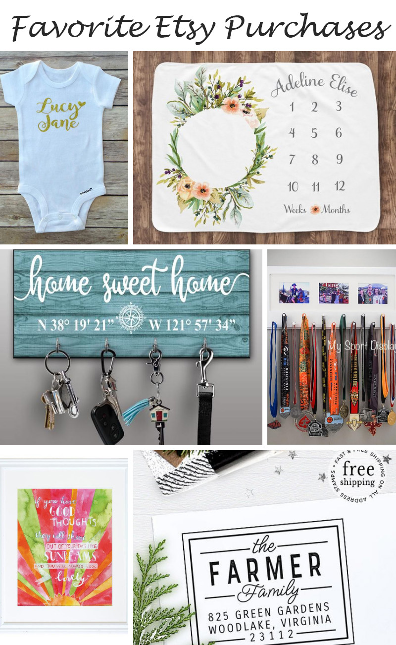 Favorite Etsy Purchases | Unique Gift Ideas