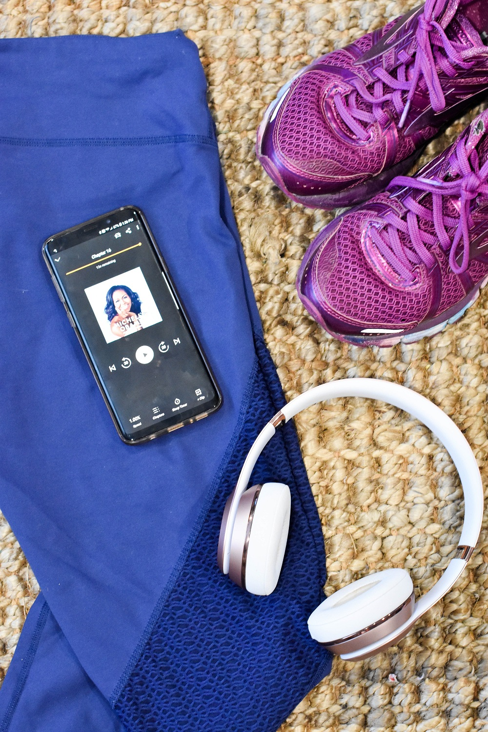 Healthy Fitness Habits for the New Year With Audible