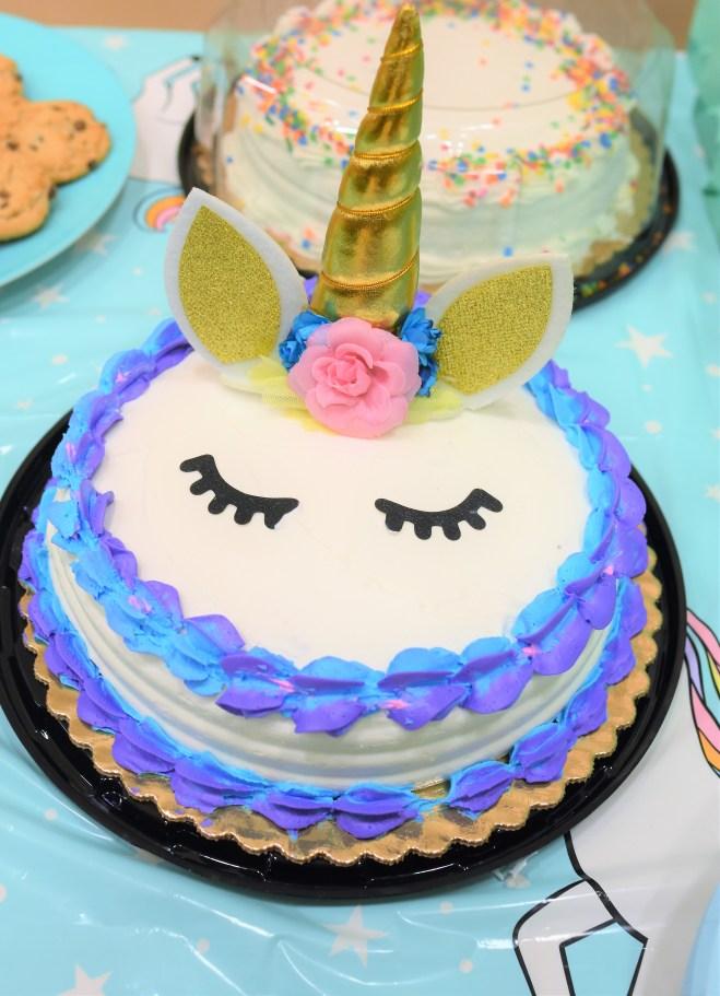 Easy Unicorn Cake