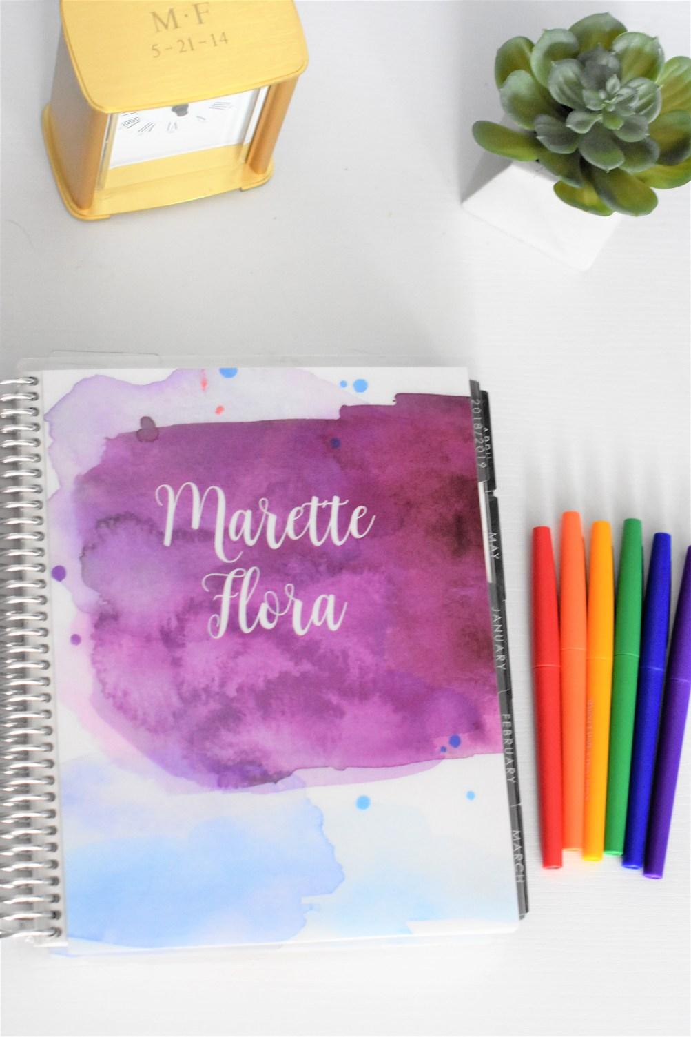 Erin Condren Planner and Pens