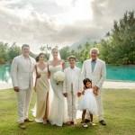 Marciano Bora Bora Wedding Photo in 2016
