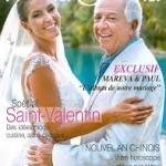 Paul and Mareva Wedding image on the cover of Fenua Oroma magazine