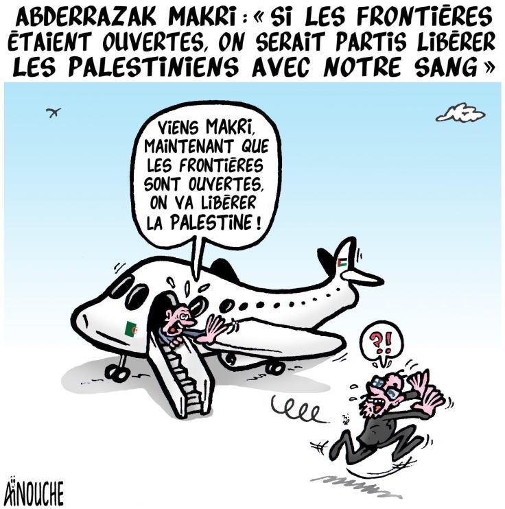 Caricature Aïnouche du 17 mai 2021