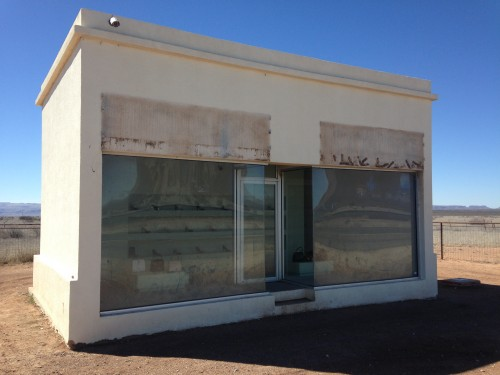 Renovation Of Damaged Prada Marfa Art Installation Begins