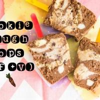 Cookie dough choc pops