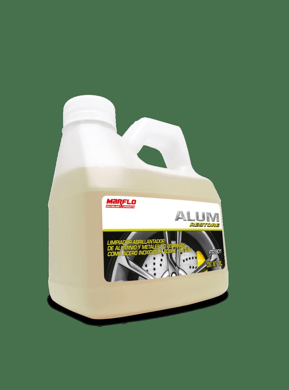 Limpiador de Aluminio, abrillantador de aluminio, marflo, detallado, detailing products