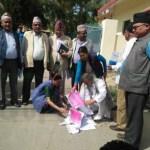सुदूरपश्चिम प्रदेश सरकारको  बजेटको रातो किताव प्रमुख प्रतिपक्षी दल नेपाली कांग्रेस र राजपाका प्रदेश सासंदहरुले जलाए