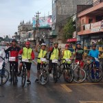 दोस्रो विश्व साइकल दिवस नेपालगन्जमा साइकल र्यालीको आयोजना फोटो फिचर सहित