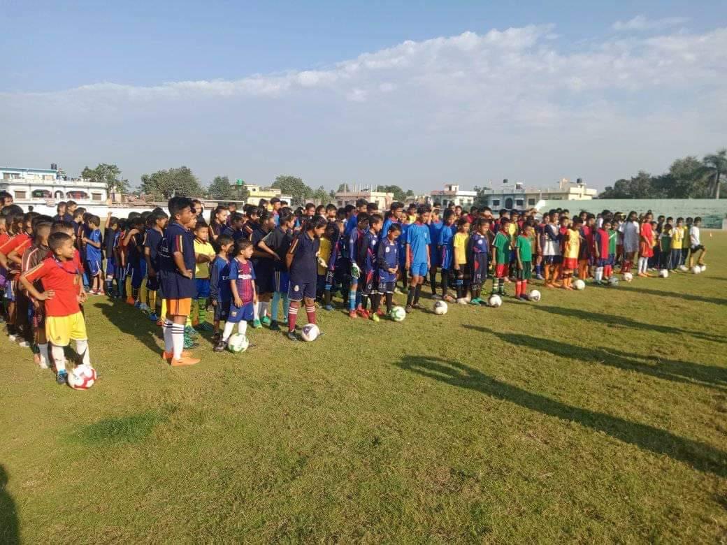नेपालगन्जमा ग्रासरुट फुटबल सुरु