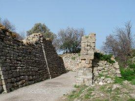 Sloping walls more successfully deflect enemy ammunition.