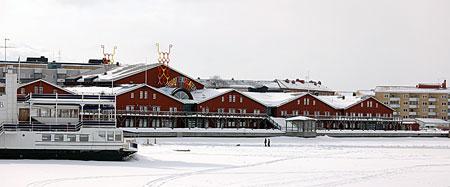 Norrbottensteatern i Luleå, en vacker inramning