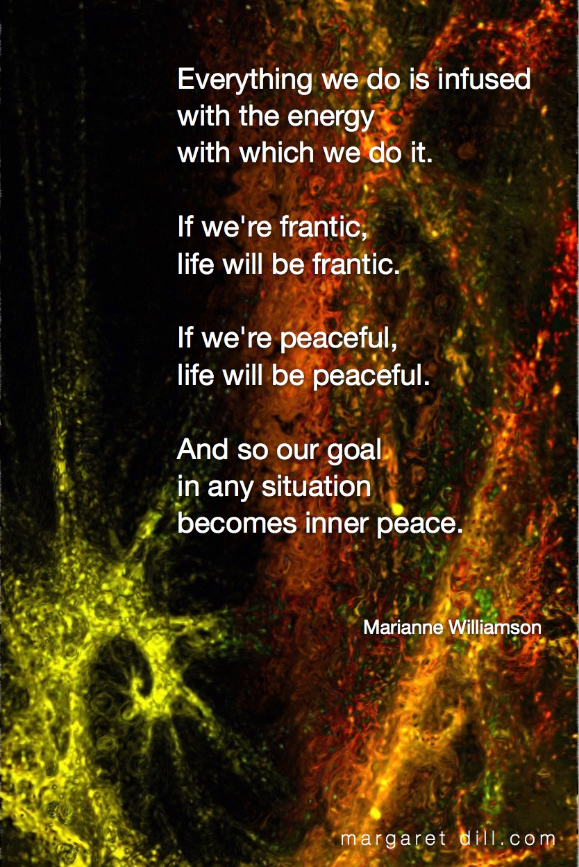 Everything we do-Marianne Williamson #spiritualquotes  #wordsofwisdom  #Fractalart #Margaretdill   #wordstoliveby #MarianneWilliamsonQuote