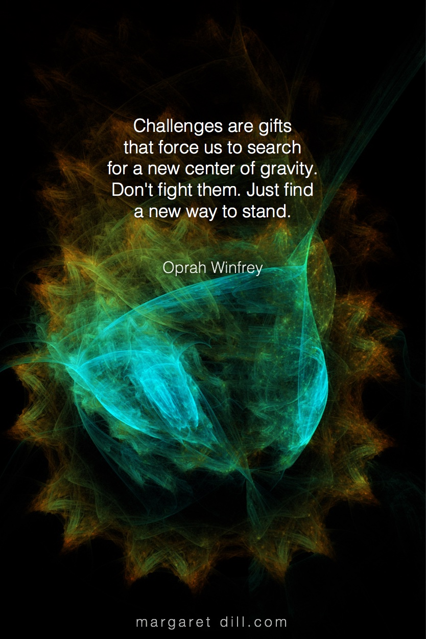 Challenges are gifts - Oprah Winfrey #Wisdom  #MotivationalQuote  #Inspirational Quote  #OprahWinfrey  #LifeQuotes  #LeadershipQuotes #PositiveQuotes  #SuccessQuotes