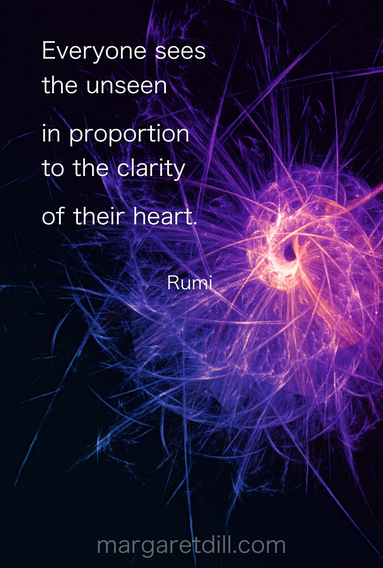 Everyone Sees the unseen Rumi Quote Everyone Sees the unseen #wordstoliveby #mindfulness #meditation #Spiritualawakening #wordsofwisdom #quotations #rumi #rumiquotes