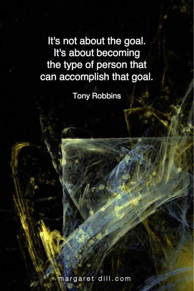 Goals - Tony Robbins