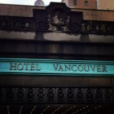 The Grande Dame of Vancouver.