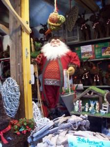 Gemütlicher Weihnachtsmann Foto: Margarete Rosen