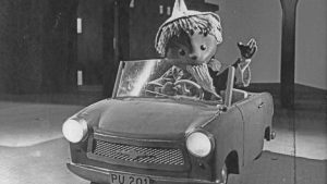 Der Sandmann im Trabant 1964