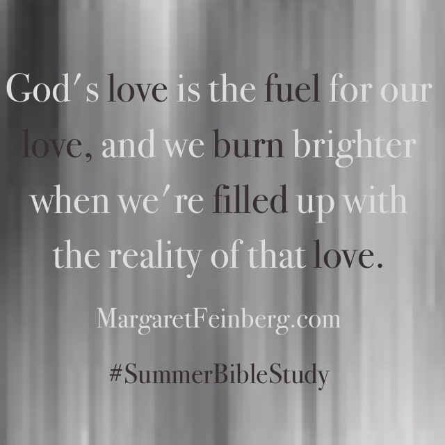 Sunday Still: God's Love is a Fuel