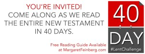 #LentChallenge: Read the New Testament in 40 Days