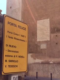 Porta Felice, Palermo