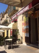 We had a phenomenal arancino at this cafe in Noto.