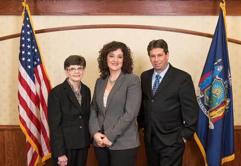 Non-partisan candidates Mary McGee, Karen Brown & Bobby Hoyt